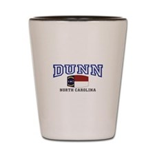 Dunn, North Carolina, NC, USA Shot Glass