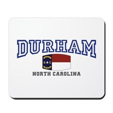 Durham, North Carolina, NC, USA Mousepad
