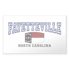 Fayetteville, North Carolina, NC, USA Decal