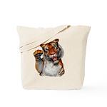 Tiger, Tiger, Burning Bright Tote Bag