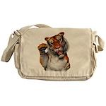 Tiger, Tiger, Burning Bright Messenger Bag