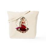 Cute Cartoon Mermaid Tote Bag