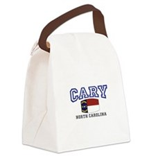 Cary, North Carolina, NC, USA Canvas Lunch Bag