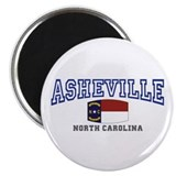 Asheville, North Carolina, NC, USA Magnet