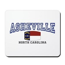 Asheville, North Carolina, NC, USA Mousepad