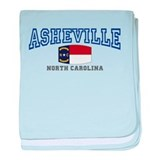 Asheville, North Carolina, NC, USA baby blanket