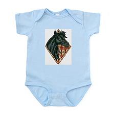 Black Arabian Infant Creeper