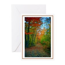 New England Autumn Greeting Cards (Pk of 10)