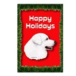 Great Pyrenees Holiday Postcards (Package of 8)