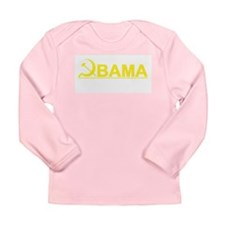 Hammer and Sickle Obama Long Sleeve Infant T-Shirt