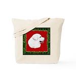 Great Pyrenees Holiday Tote Bag