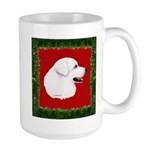 Great Pyrenees Holiday Large Mug