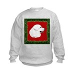 Great Pyrenees Holiday Kids Sweatshirt