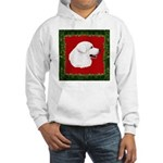 Great Pyrenees Holiday Hooded Sweatshirt