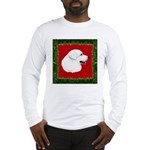 Great Pyrenees Holiday Long Sleeve T-Shirt