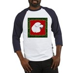 Great Pyrenees Holiday Baseball Jersey