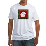 Great Pyrenees Holiday Fitted T-Shirt