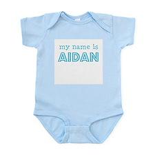 My name is Aidan Infant Creeper