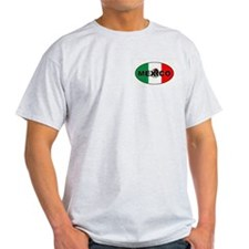 Mexico Ash Grey T-Shirt
