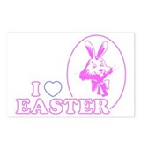 I Heart Easter Postcards (Package of 8)