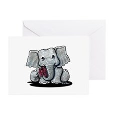 KiniArt Elephant Greeting Cards (Pk of 10)