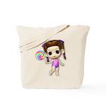 Lollipop Girl Cutie Tote Bag