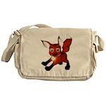 Felix the Fox Messenger Bag