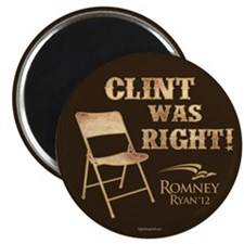 "Clint Was Right! 2.25"" Magnet (10 pack)"