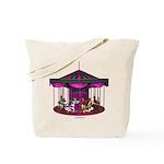 The Purple Carousel Tote Bag