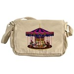 The Pink Carousel Messenger Bag