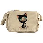Cute Cats: PussPuss Messenger Bag