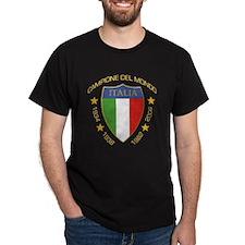 Campione del Mondo (Scudo) Black T-Shirt
