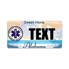 Alabama EMS Custom License Plate