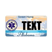 Alabama EMS Custom License Plate