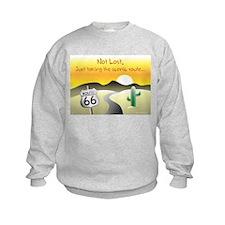 not lost Sweatshirt