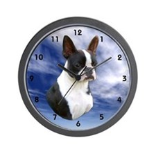 Designs by Eclipse Boston Terrier Wall Clock