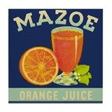 Mazoe colour Tile Coaster