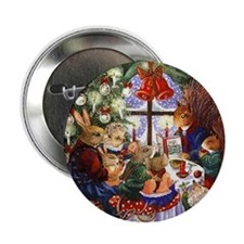 Mouse Family Holiday Pin Buttons (10 pack)