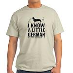 Little German! Dachshund Light T-Shirt
