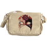 Venetian Mask: Carnival Jewel Messenger Bag