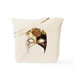 Venetian Mask: Ruby Jewel Tote Bag