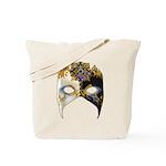 Venetian Mask: Sapphire Jewel Tote Bag