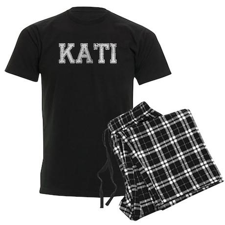 KATI, Vintage Men's Dark Pajamas
