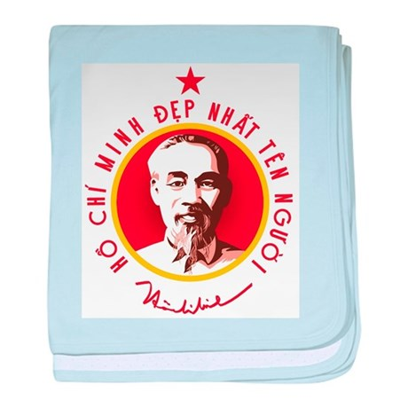 Ho Chi Minh baby blanket