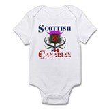 Scottish Canadian Thistle Design Onesie