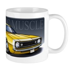 67 Yellow Camaro Mug