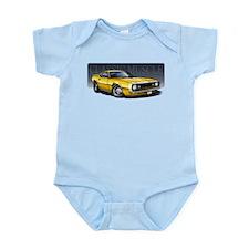 67 Yellow Camaro Infant Bodysuit