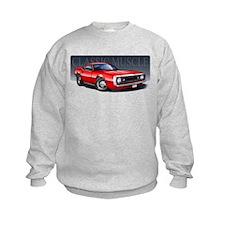 67 Red Camaro Sweatshirt