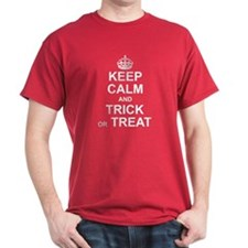 Keep Calm - Trick or Treat T-Shirt