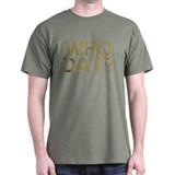 WHO DAT?, Vintage, T-Shirt